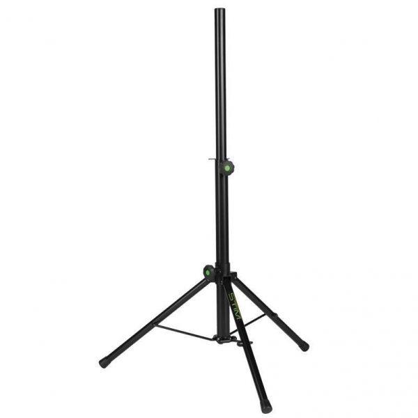 KL-01:<br>Stojak pod kolumny głośnikowy-aluminiowy niski