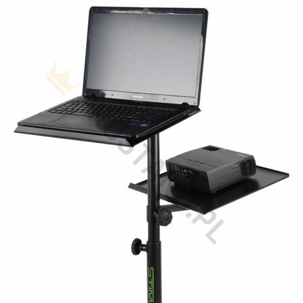 R-16:<br>Statyw pod projektor i laptop
