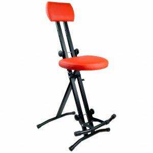 Krzesło dla gitarzysty – CZERWONE